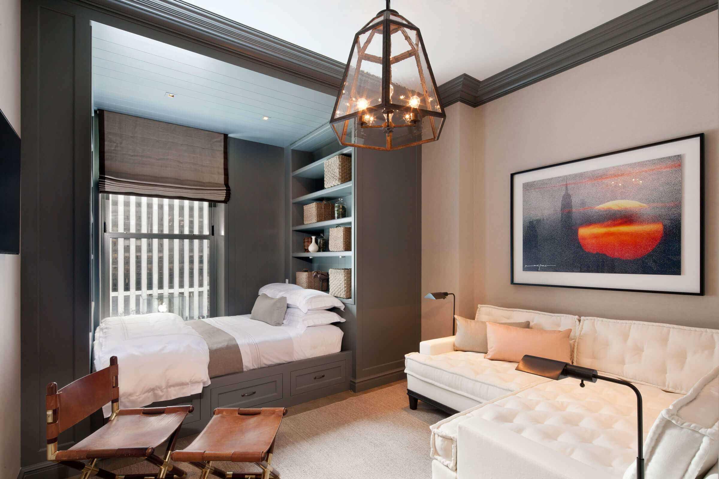 Спальня в стиле «барокко»