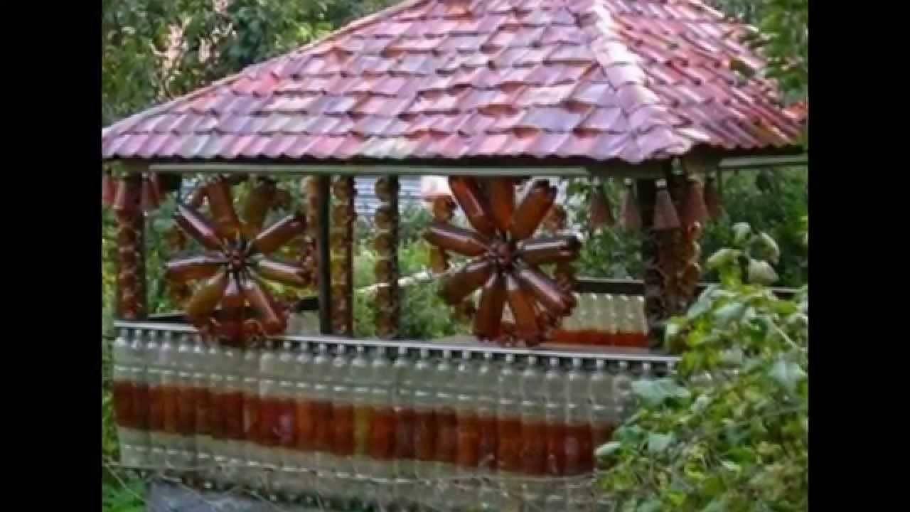 Поделки из пластиковых бутылок: красивые украшения сада и варианты использования пластика (75 фото + видео)