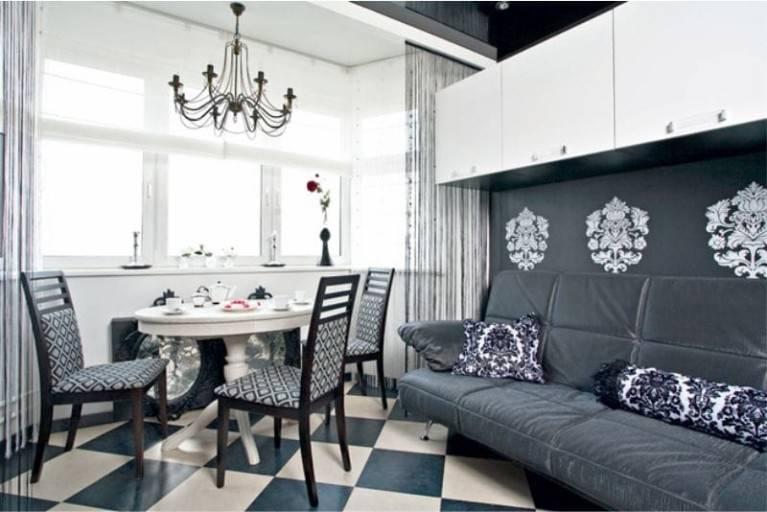 Кухня гостиная 30 м кв: дизайн, фото, особенности, зонирование, цвета