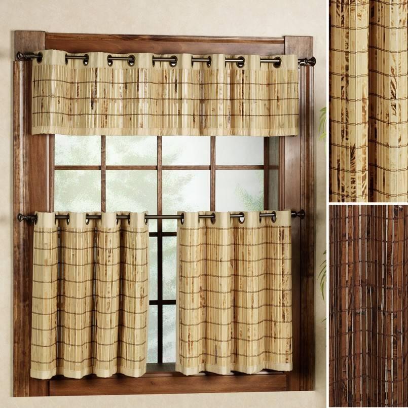 Бамбуковые шторы (58 фото): как установить рулонные жалюзи на окна от солнца, идеи в интерьере балкона и прихожей, механизмы и отзывы