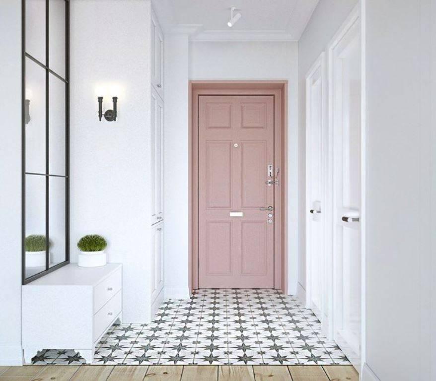 Способы отделки входной двери изнутри