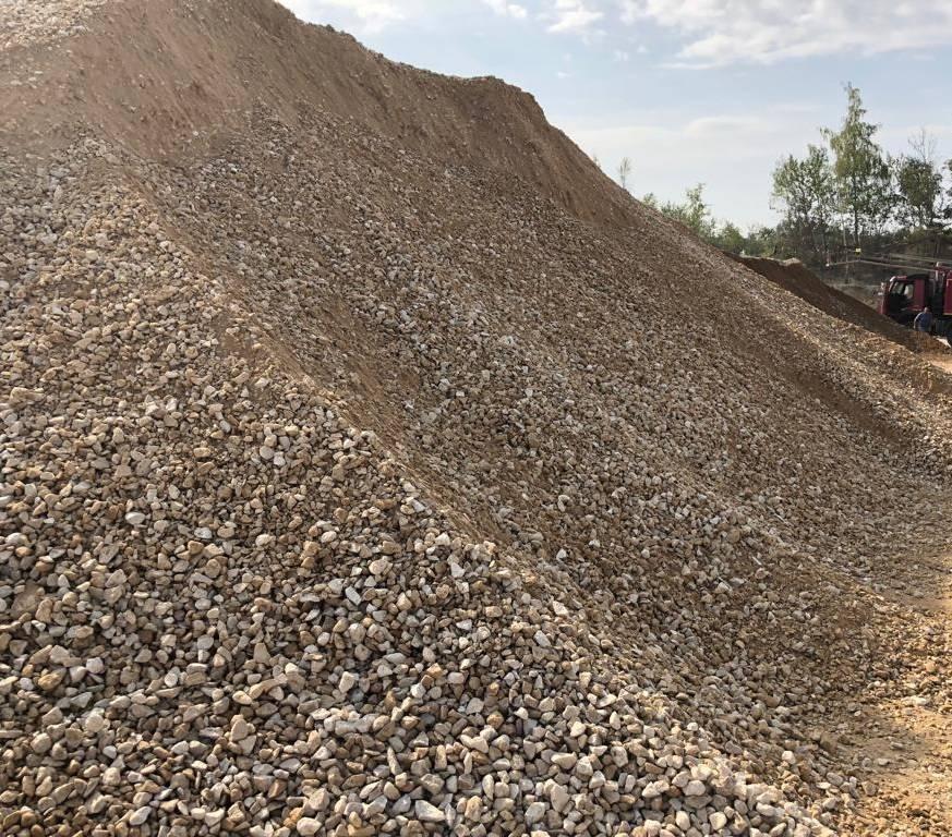 Щебеночно-песчаная смесь: с4 и с5, с2 и с1, плотность и объемный вес материала с6, укрепление цементом