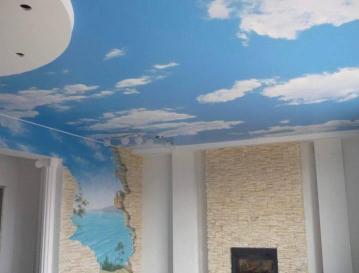 Преимущества и недостатки тканевых натяжных потолков