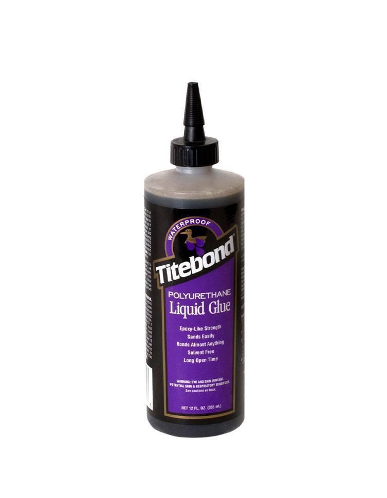 Полиуретановый клей для дерева: однокомпонентный состав и клей-расплав, продукция titebond