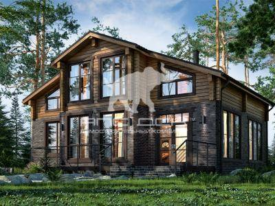 Комбинированные дома — стили, варианты архитектуры, лучшие проекты и эксклюзивный дизайн (135 фото и видео)