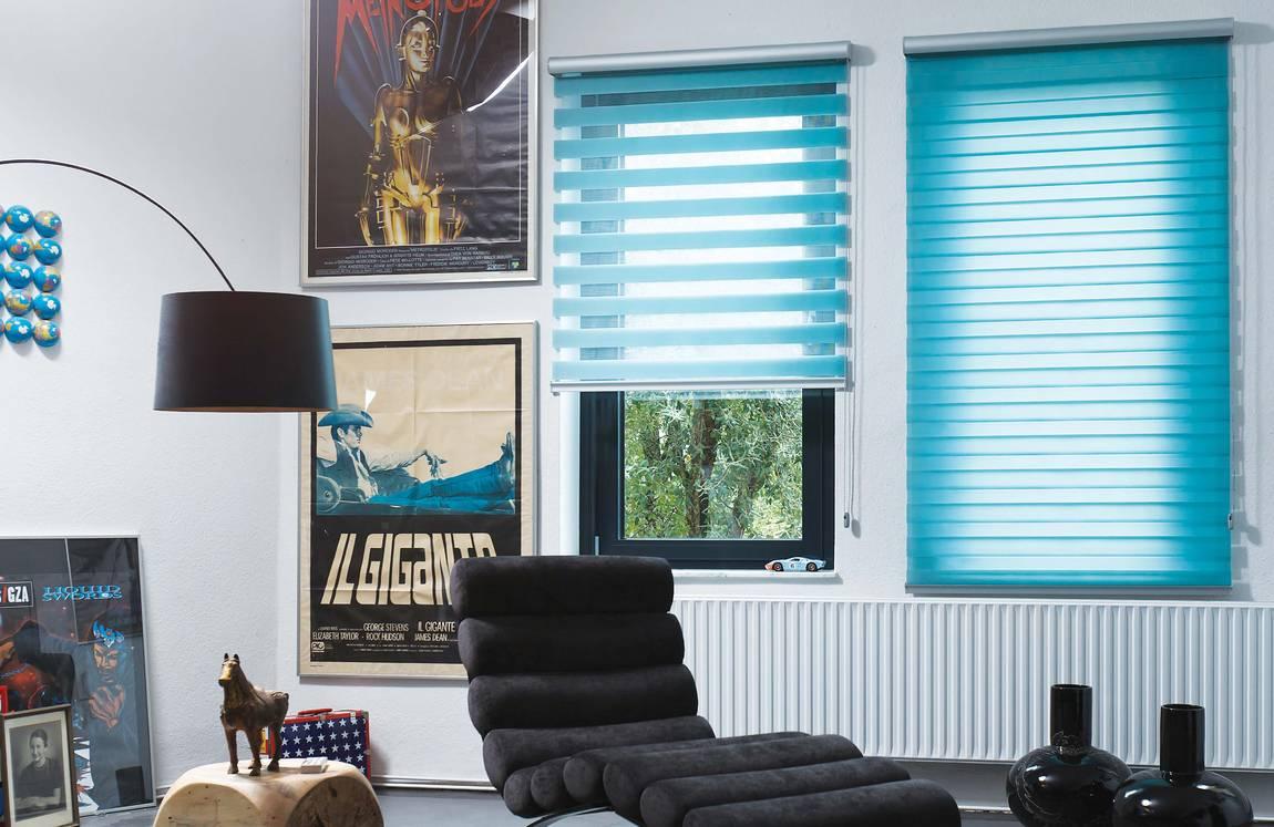 Как крепить рулонные шторы на пластиковые окна без сверления