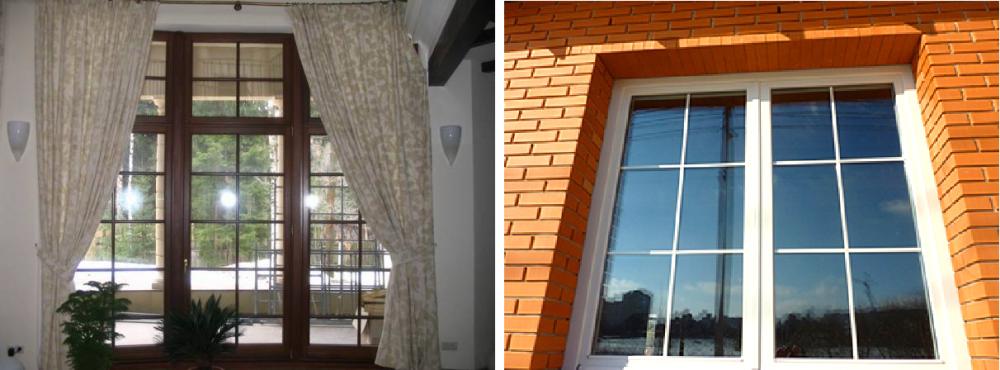 Что такое шпросы в пластиковых окнах. что такое шпросы на окнах: виды и их характеристики