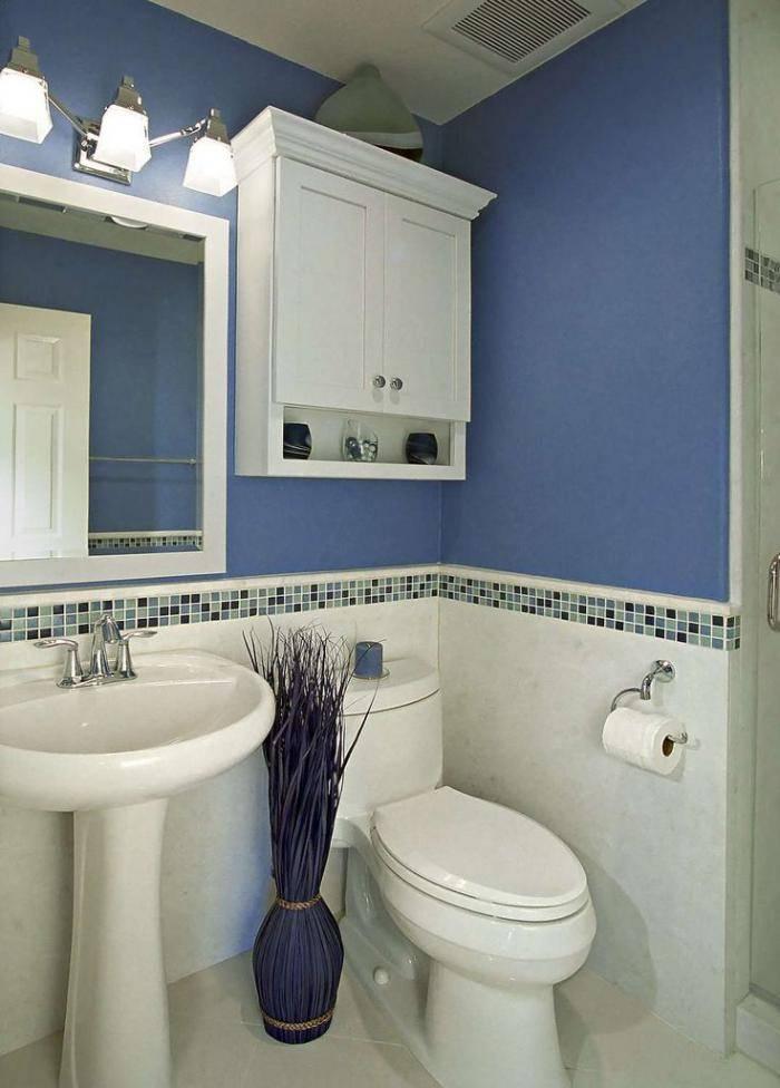Голубая ванна или дизайн из мультфильма «В синем море, в белой пене»