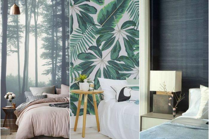 Какой цвет обоев выбрать для спальни? 70 фото: какие расцветки лучше подходят по фэн-шуй