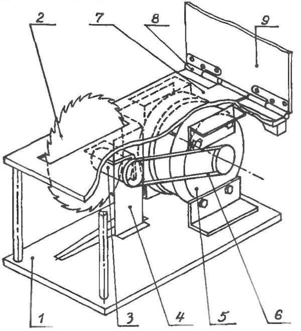 Как сделать циркулярный станок своими руками?