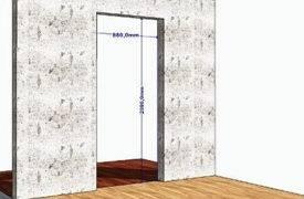 Стандартные размеры межкомнатных дверей с коробкой (68 фото): стандарты габаритов, правильные ширина и высота