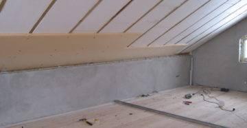 Как утеплить плоскую и скатную крышу изнутри частного дома?