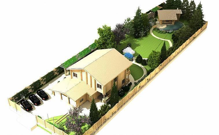 Тонкости ландшафтного дизайна участка площадью 20 соток