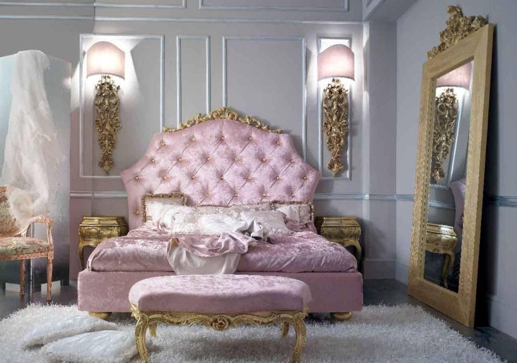 Спальни барокко — правильное оформление дизайна, советы как достичь шикарного результата (130 фото)