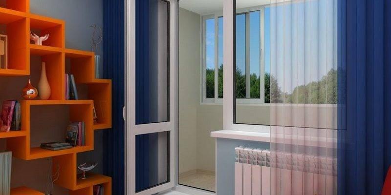 Дует с балконной двери – что делать? Инструкция: Обзор