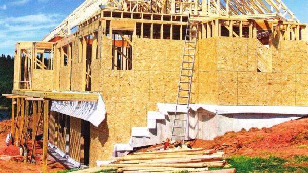 Толщина стены каркасного дома для постоянного в нем проживания