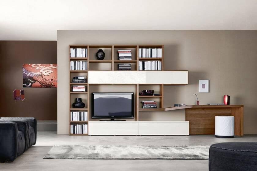 Компьютерный стол в гостиную / модели и варианты размещения