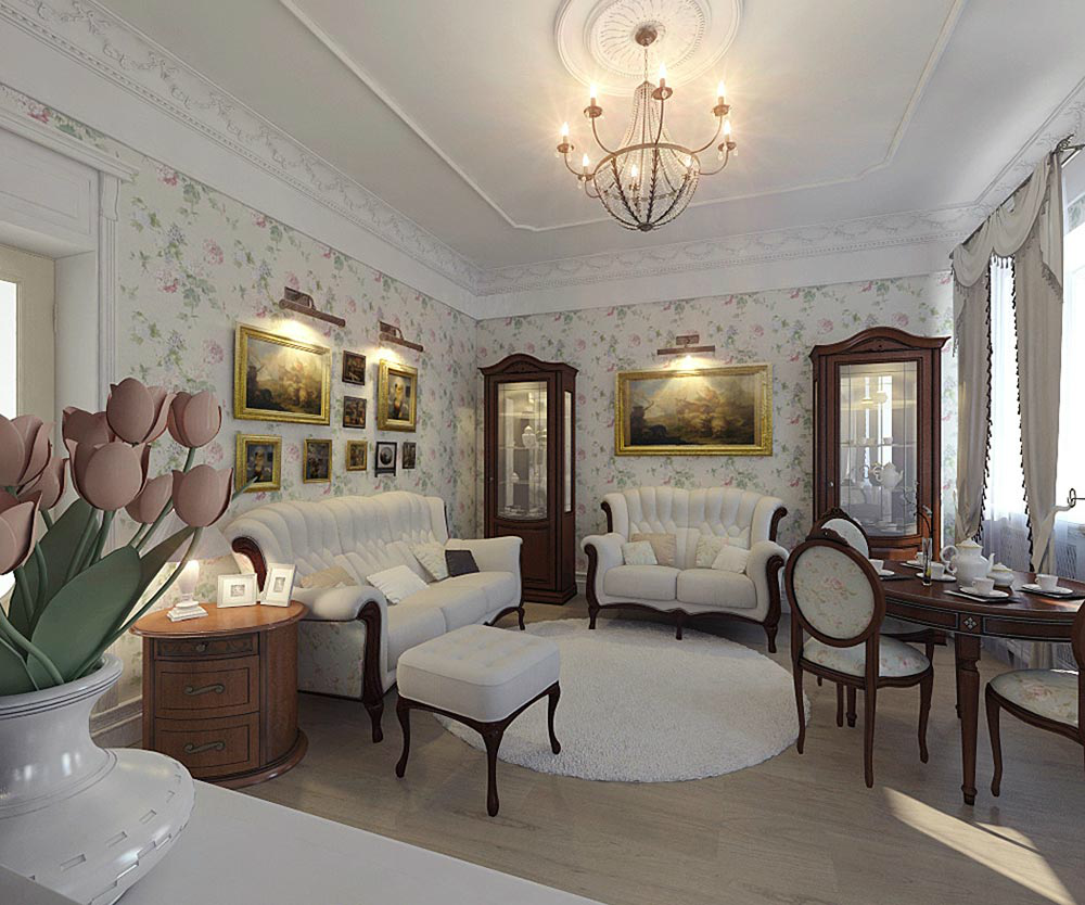 Современная классика в интерьере квартиры: чем отличается от классики, особенности оформления, идеи дизайна, как обустроить спальню, подбор мебели, фото примеры