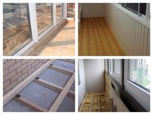 Пол своими руками на балконе (75 фото): из чего сделать теплый пол на лоджии и пошаговая инструкция