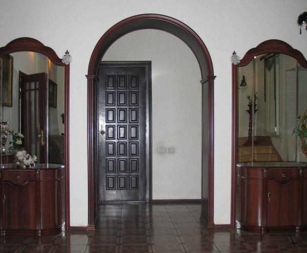 Сделать арку из гипсокартона в дверном проеме