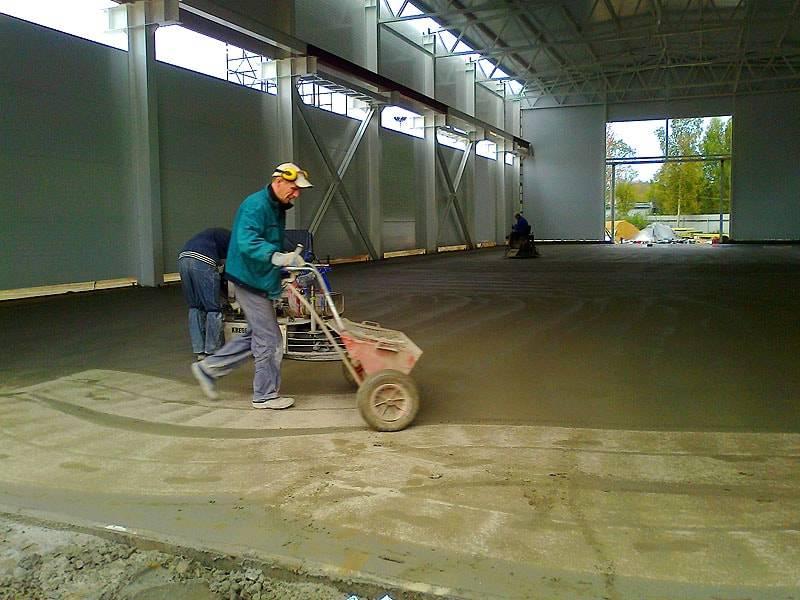 Топпинг для бетонного пола: плюсы и минусы