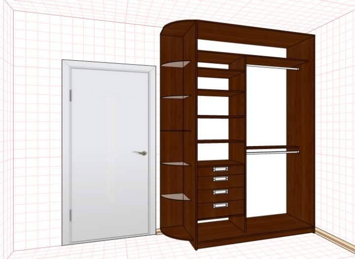 Раздвижные двери для шкафа-купе своими руками