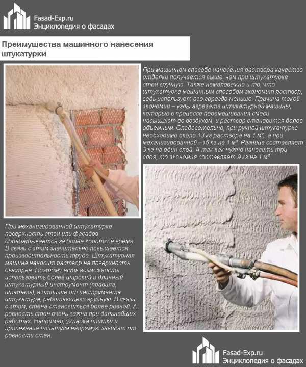 Цементная штукатурка для наружных работ – особенности применения
