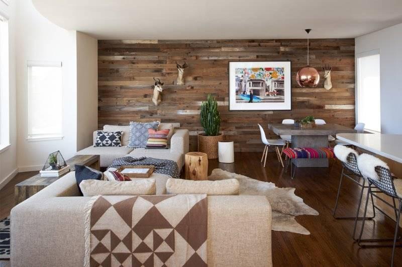 Отделка стен деревом - материалы, современные идеи. использование дерева для оформления помещений: кухни, ванной, гостиной