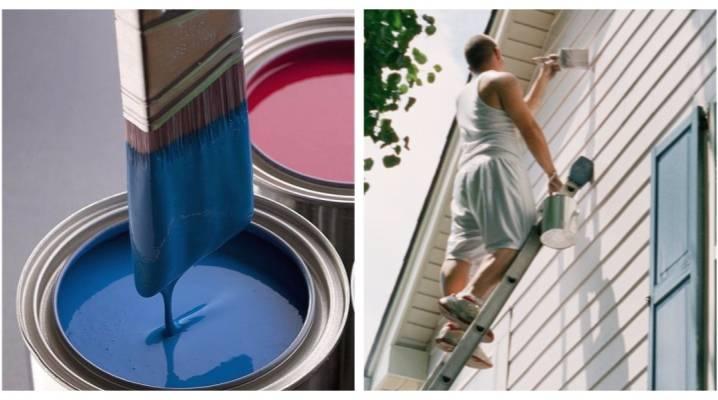 Расход краски на 1м2 по фасадной штукатурке в зависимости от типа краски