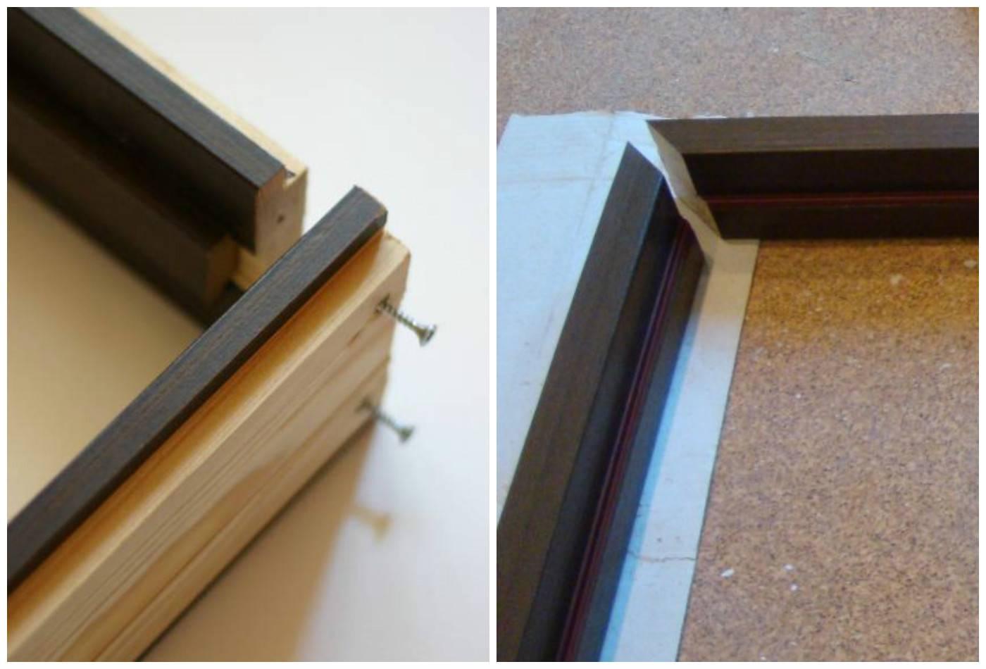 Установка дверной коробки из мдф своими руками - технология