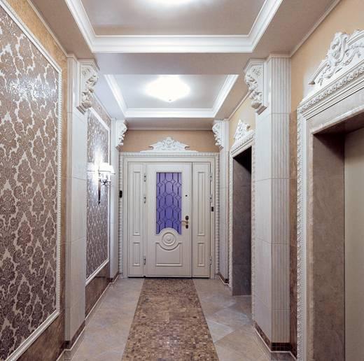 Лепнина на потолке: варианты оформления