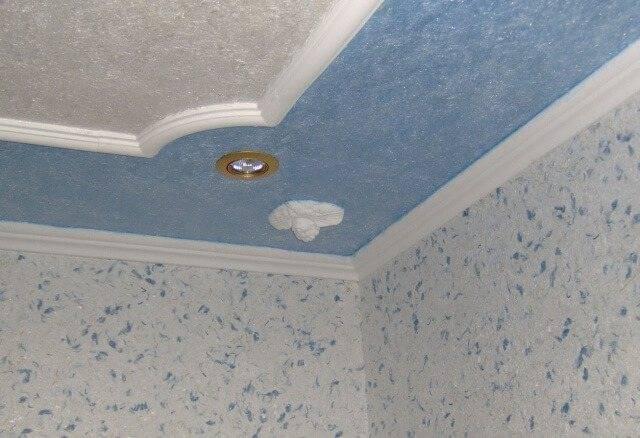 Ремонт потолков в частном доме