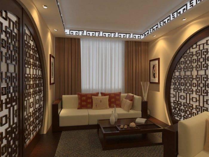 Гостиная с эркером с камином: дизайн, интерьер