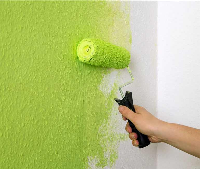 Какая краска лучше для обоев под покраску – полезные рекомендации, тонкости отделки