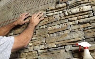 Гипсовая плитку на стену своими руками