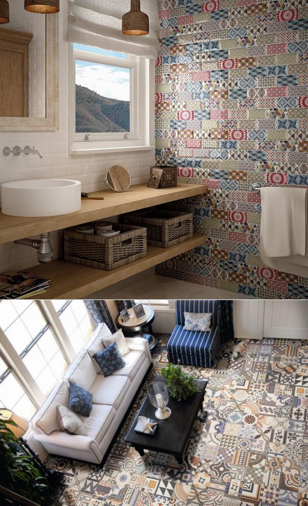 Кухня в стиле пэчворк: особенности стиля и его разновидности ( 50+ фото примеров)