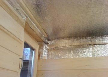 Правильное утепление крыши бани своими руками. виды утеплителей. видео