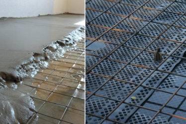Арматурная сетка для бетонного основания пола: виды, цены, технология укладки