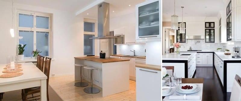 Кухня с островом (85 фото) - идеи дизайна, красивые примеры реальных интерьеров