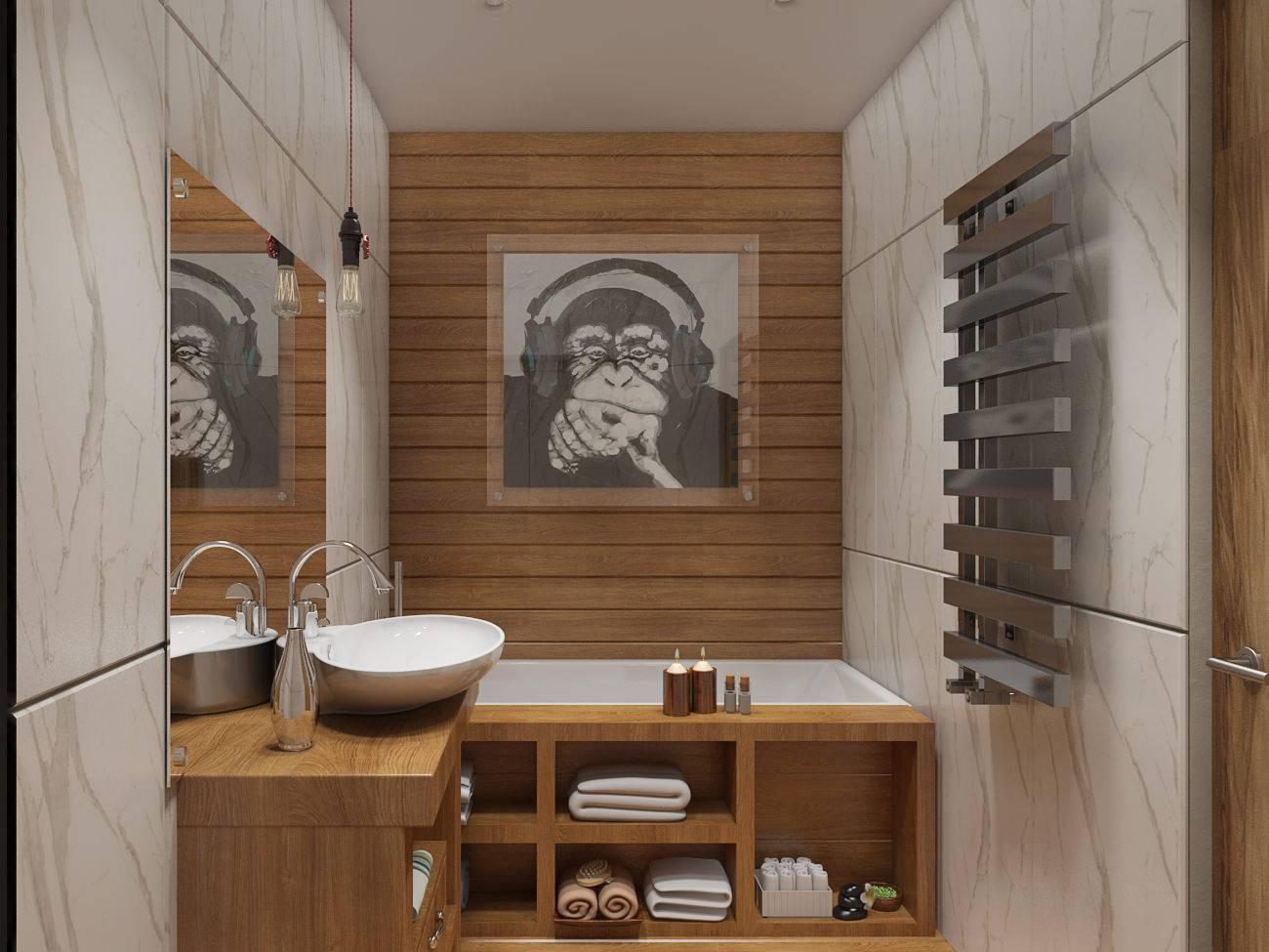 50 лучших идей для 4-метровой ванной в 2020 году