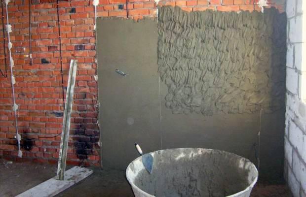 Гипсовая или цементная штукатурка что лучше: преимущества, отличия