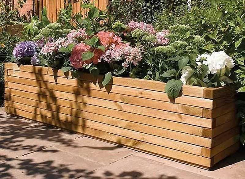 Уличные вазоны для цветов: красивые идеи (70 фото)