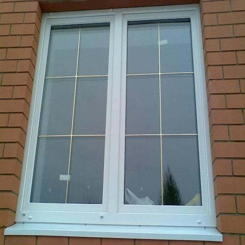 Пластиковые окна с декоративной раскладкой - виды, фото пвх окон с раскладкой
