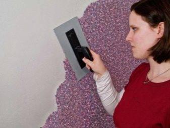 Мозаичная штукатурка (33 фото): декоративная акриловая мозаика, продукция для декорирования стен