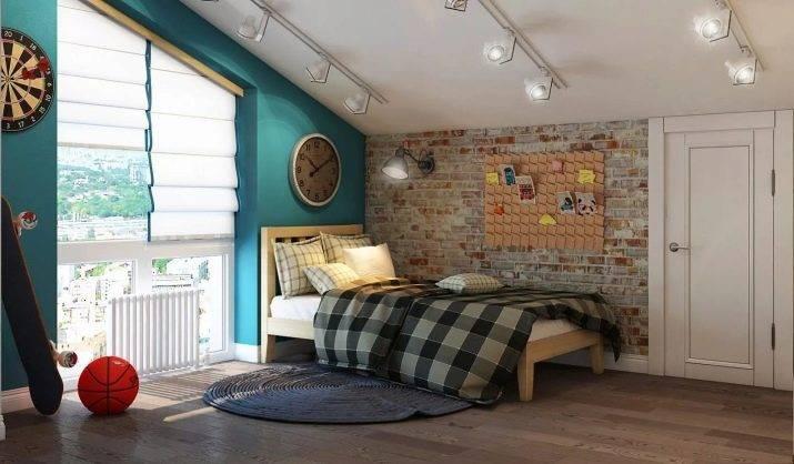 Спальня для мальчика-подростка (59 фото): дизайн интерьера со спальным местом  для одного и для двух мальчиков