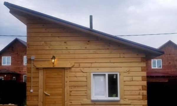 Односкатная крыша своими руками пошагово, схемы