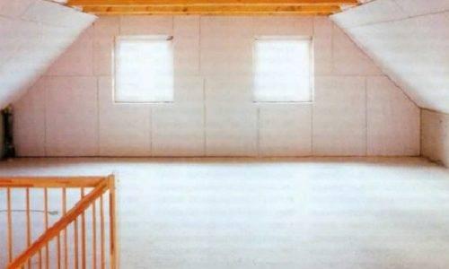 Как собирать каркас для гипсокартона в мансардных помещениях