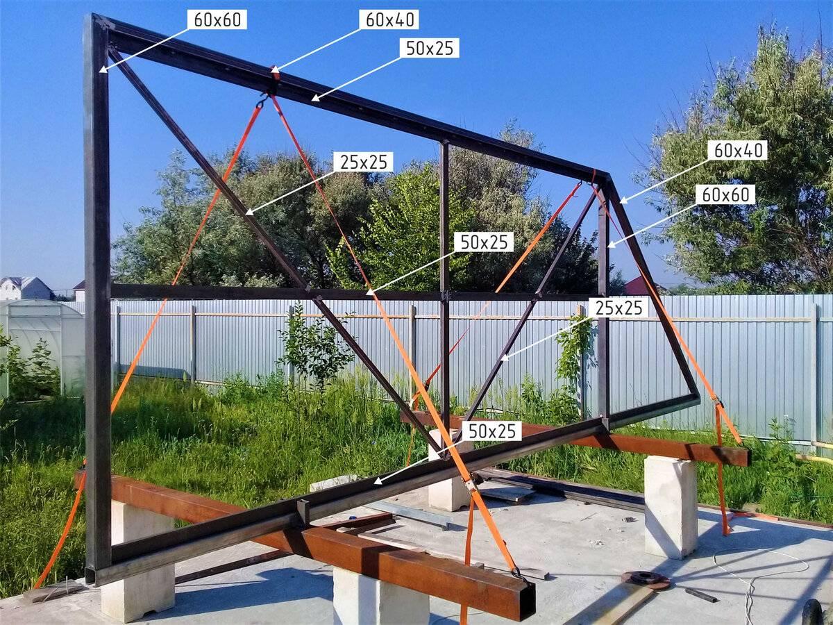 Откатные ворота: особенности, принцип работы, как сделать своими руками, как установить электропривод, инструкция по монтажу, материалы и инструменты