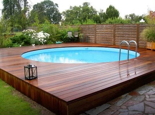 Как сделать бассейн на даче своими руками (дешево)