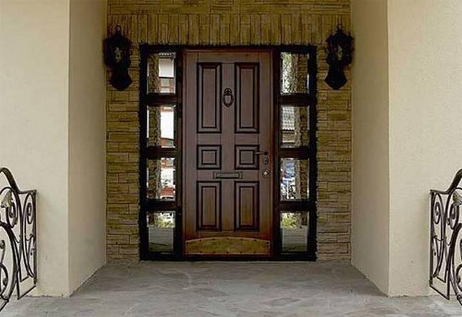 Обивка входной металлической двери своими руками внутри и снаружи: обшивка деревом, дермантином и ламинатом